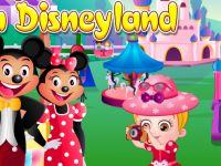 Baby in Disneyland