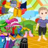 Kindergarten Baby Einkleiden